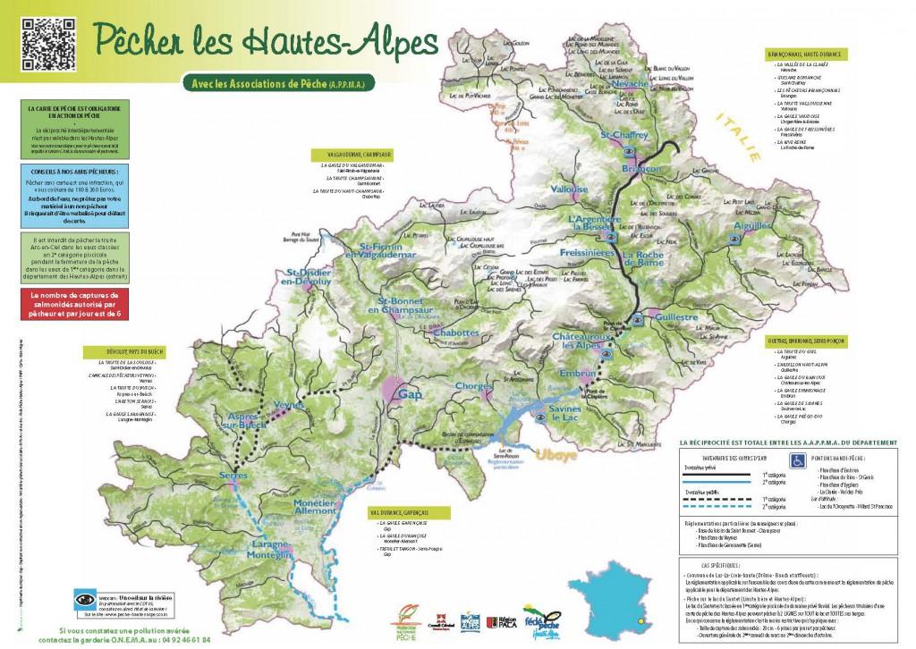 Hautes alpes 05 coins de p che lacs rivi res eau for Haute durance