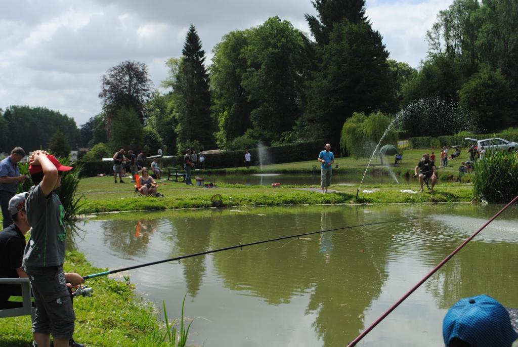 Etangs de pêche du chateau d'Equirre