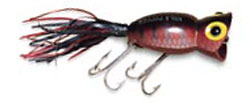 Fred Arbogast, Lurenet, PRADCO Fishing Hula Popper