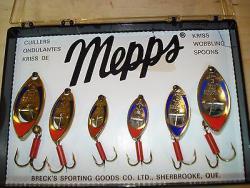 Mepps, Sheldons' Kriss