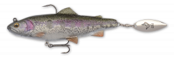 Savage Gear, Prologic, Svendsen Sport 4D Spin Shad Trout