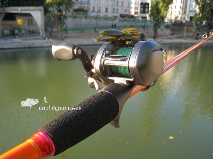 La canne à pêche