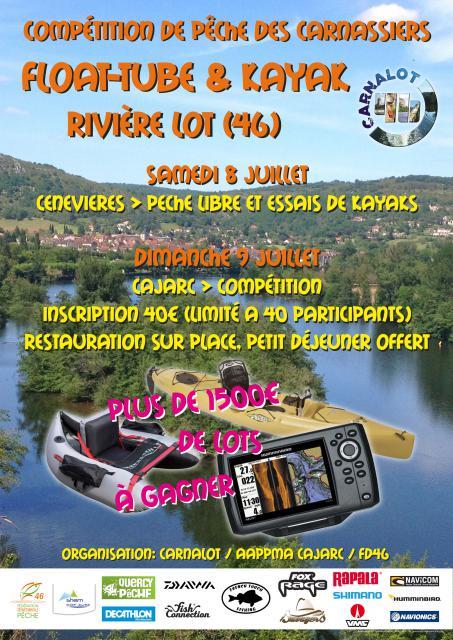 Compétition Carnalot Float Tube & Kayak, (1h30 de Toulouse) 64-1497535574