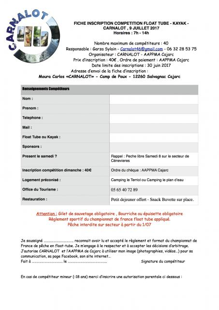 Compétition Carnalot Float Tube & Kayak, (1h30 de Toulouse) 64-1497535642