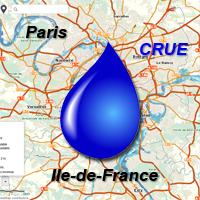 Paris et l'IDF sous les eaux!