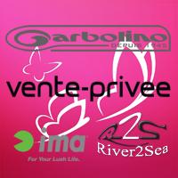 Vente privée Garbolino, River2Sea, Ima et Izumi